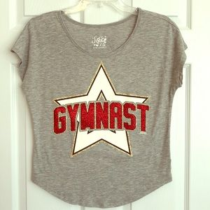 Girls' Justice Gymnast Shirt